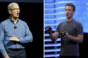 Tim Cook i Mark Zuckerberg