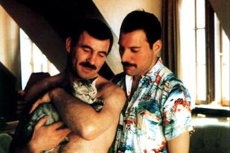 Freddie Mercury i Jim Hutton