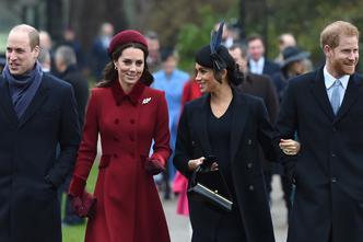 Meghan i Kate zajedno s ostalim članovima kraljevske obitelji dolaze na misu