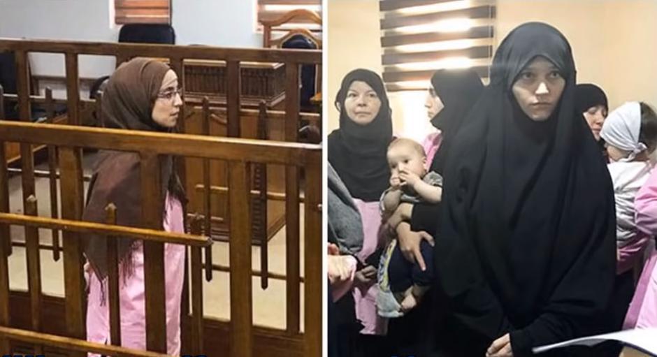 Supruge ISIL-ovih militanata na sudu u Bagdadu   Author: YouTube