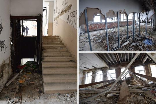 Zagreb: Derutni kompleks bivše tvornice rublja DTR
