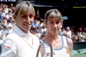 Martina Navratilova i Chris Evert Lloyd