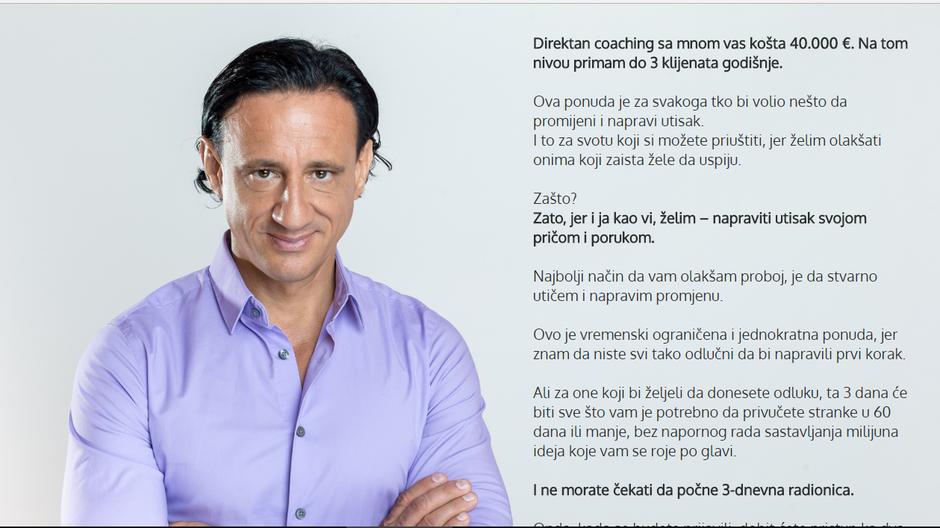 Smiljan Mori, motivacijski govornik   Author: Screenshot