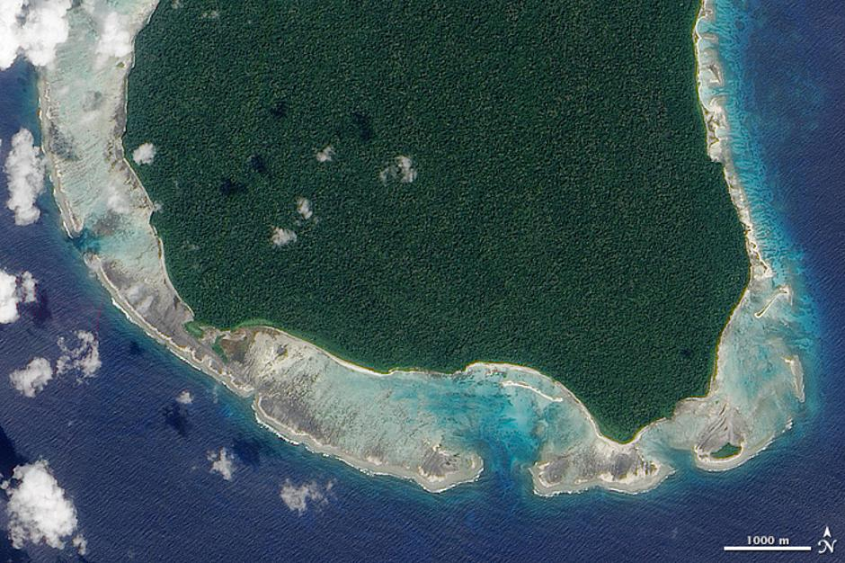 Sentinel Island | Author: NASA