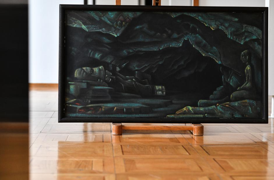 Djela Nicholasa Roericha u Modernoj galeriji | Author: Sandra Šimunović/Pixsell