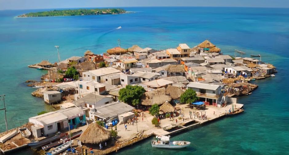 Otok Santa Cruz del Islote   Author: YouTube