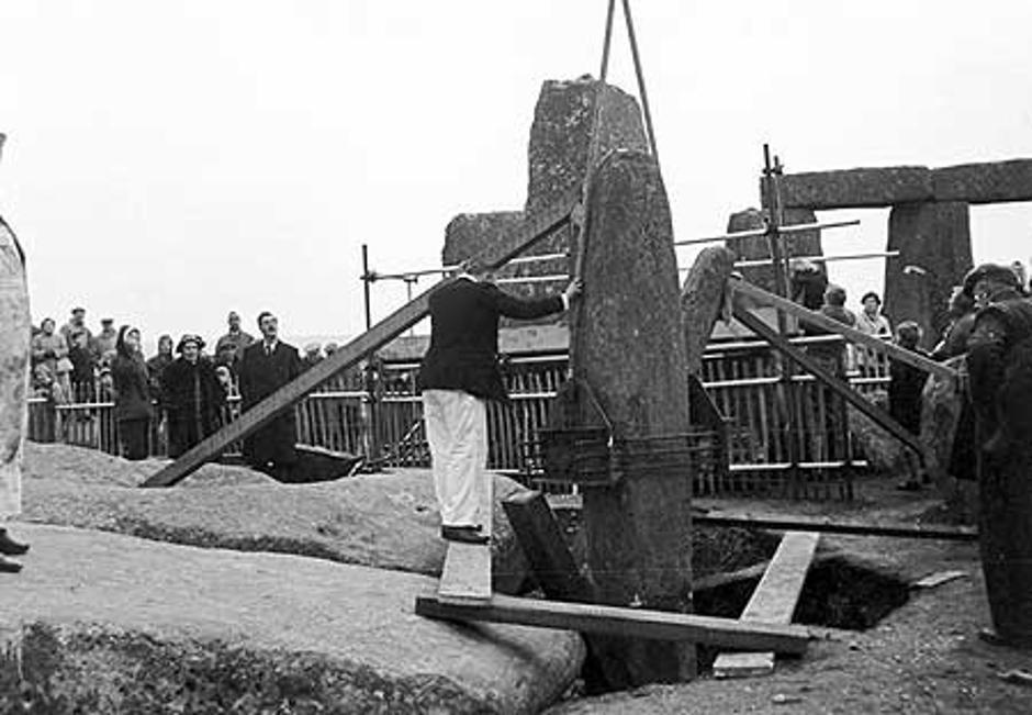 Fotografije rekonstrukcije Stonhengea | Author: Ancient Code