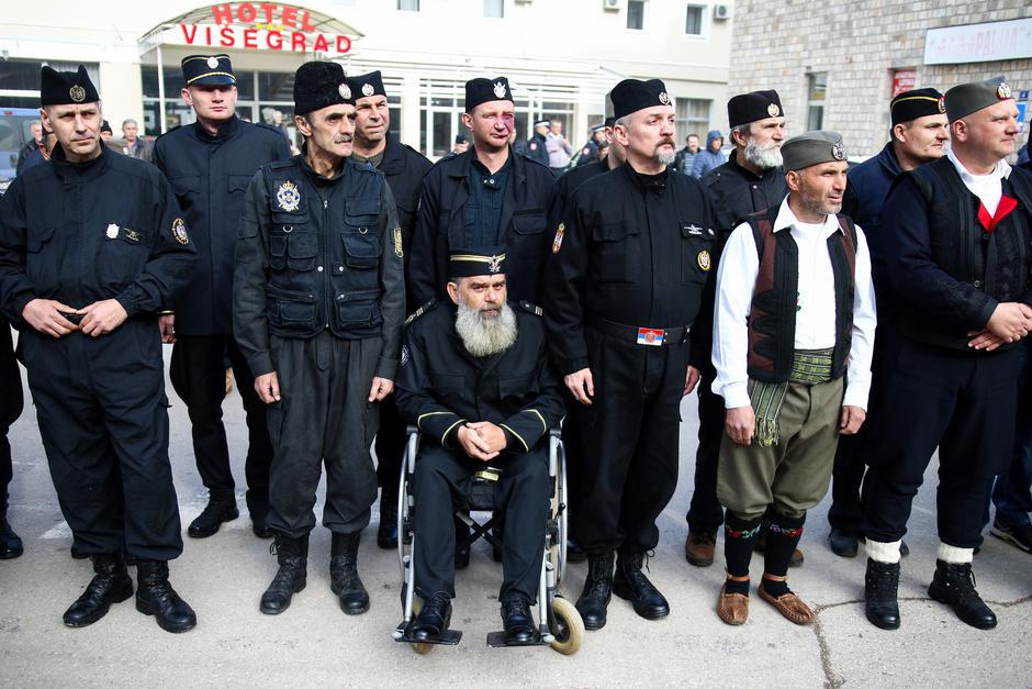 Okupljanje četnika u Višegradu | Author: Armin Durgut / PIXSELL