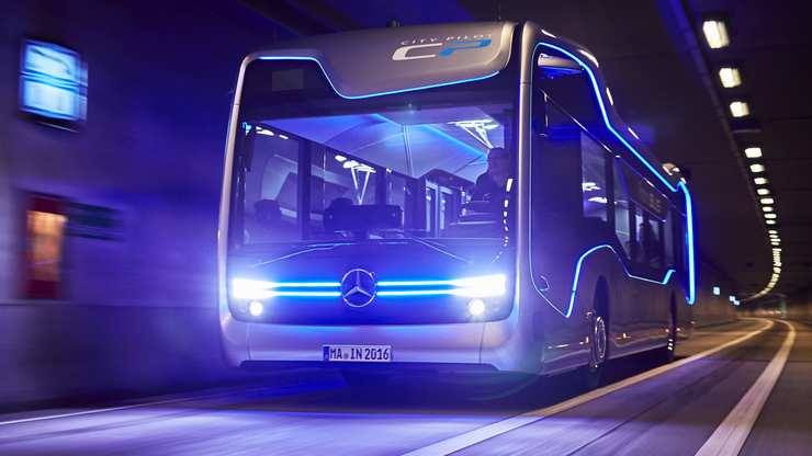 Mercedesov autobus budućnosti