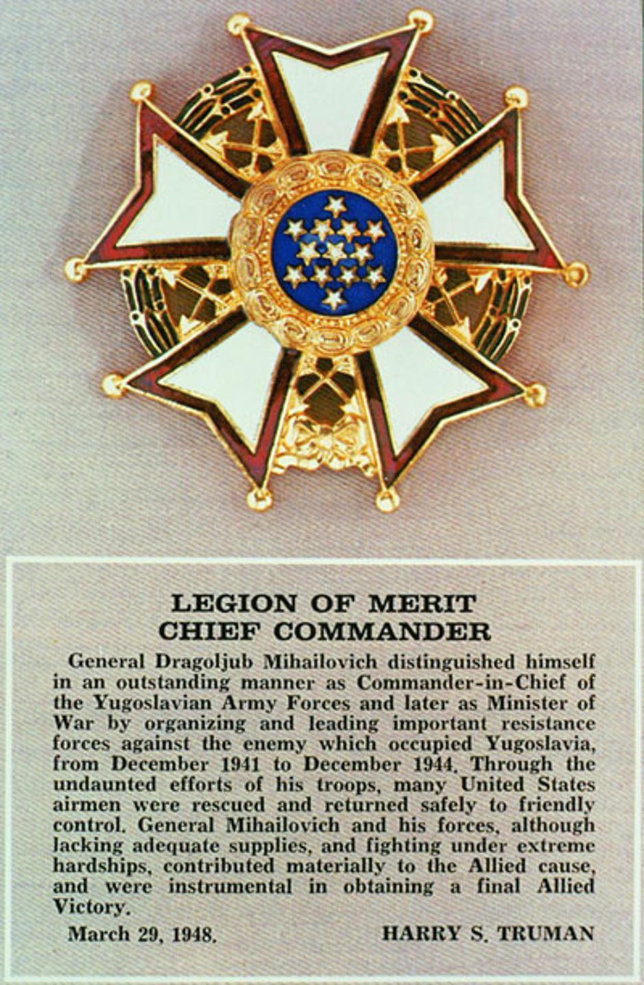 Odlikovanje Draže Mihailovića | Author: Wikipedia
