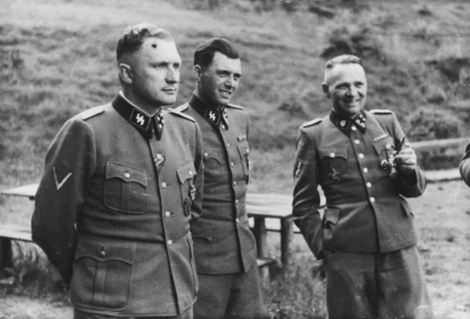 Josef Mengele i Rudolf Hess | Author: Bundesarchiv