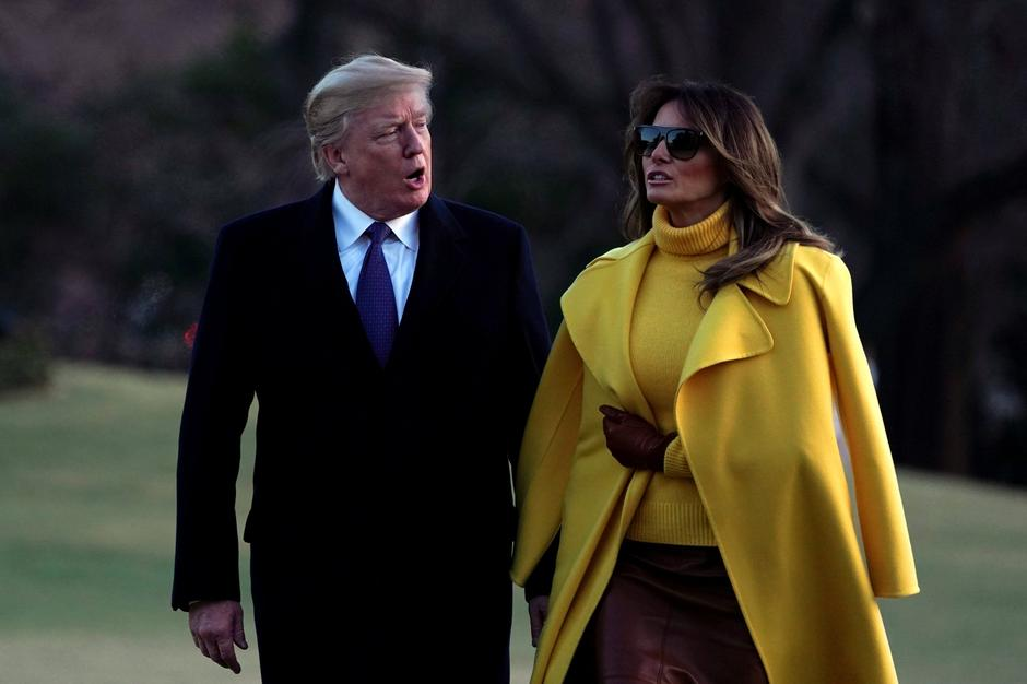 Melania i Donald Trump | Author: REUTERS