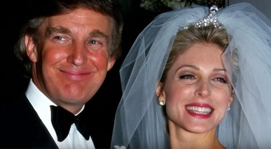 Donald Trump i Marla Maples | Author: YouTube screenshot
