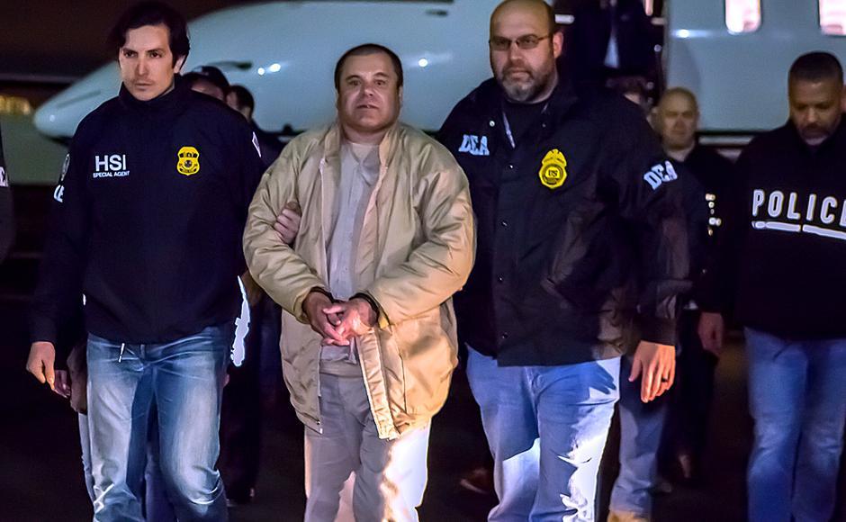 El Chapo, izručenje SAD-u 19. 01. 2017.   Author: ice.gov/ public domain